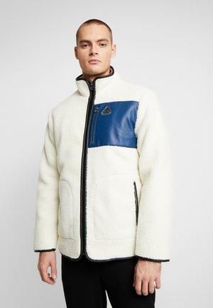 TECH BORG - Fleece jacket - offwhite