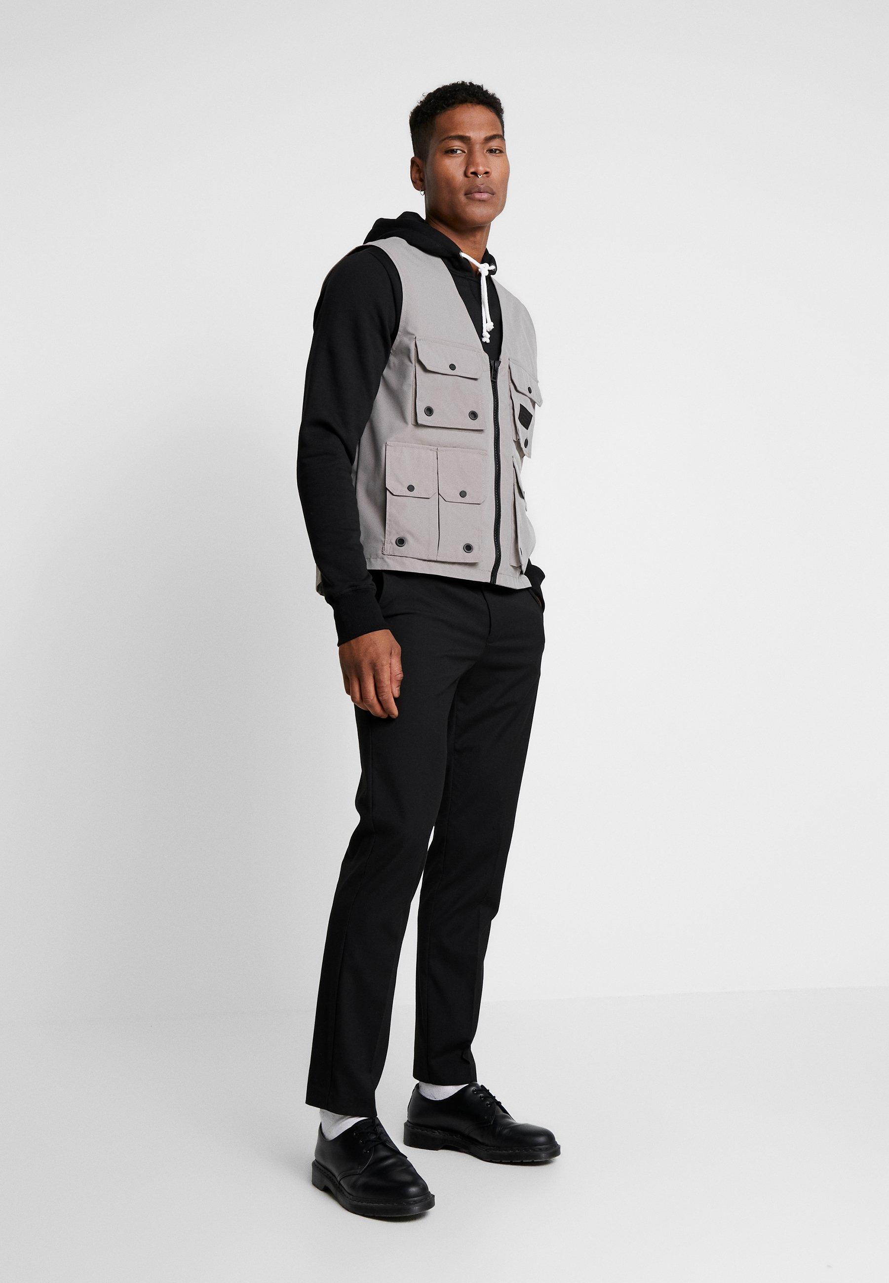 Topman Waistcoat - Grey UK