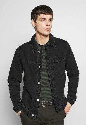1 POCKET ORGANIC - Veste en jean - black