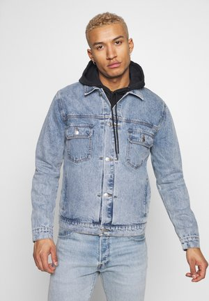 LIGHT WASH TYPE  - Denim jacket - light blue