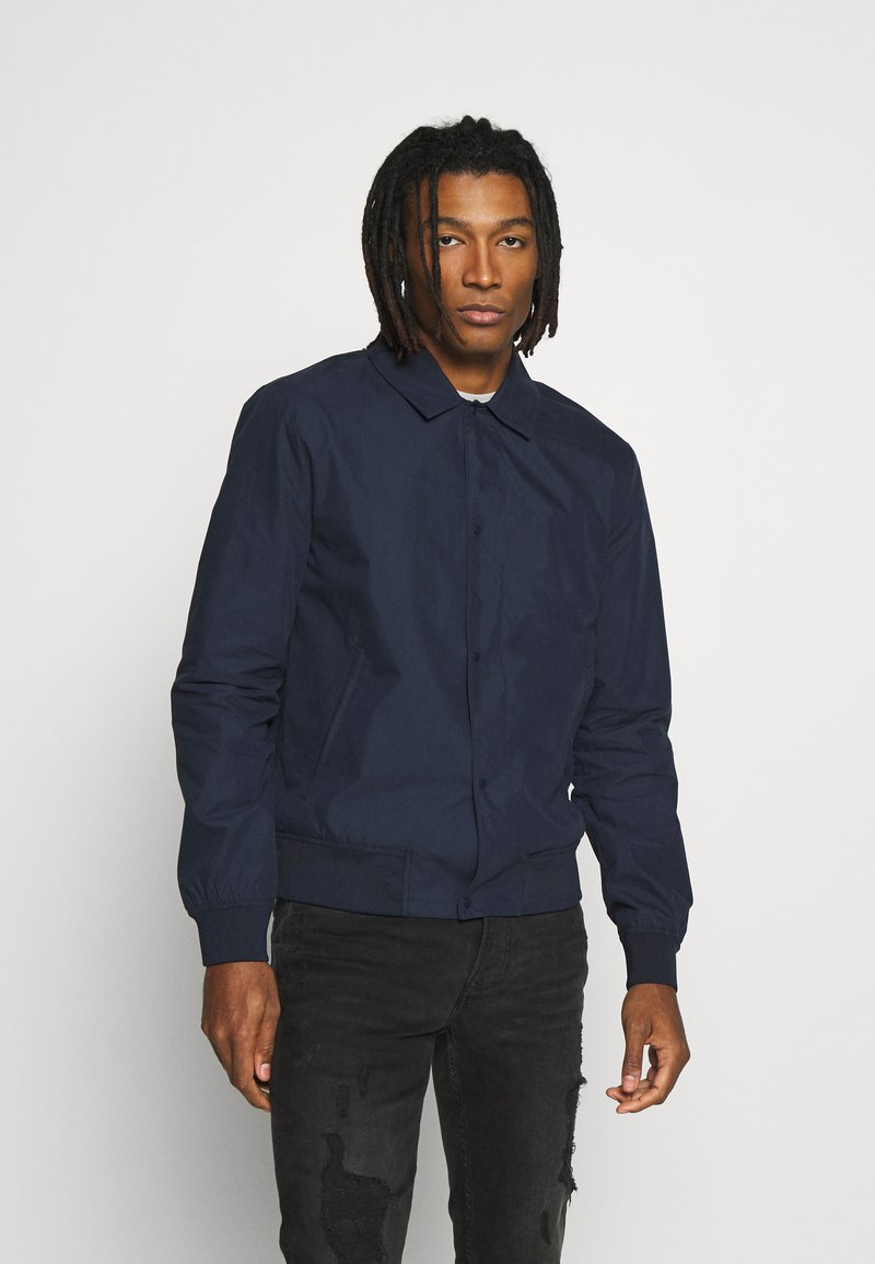 Topman - PAPER TOUCH - Bomber Jacket - navy