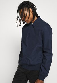 Topman - PAPER TOUCH - Bomber Jacket - navy - 3