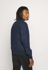 Topman - PAPER TOUCH - Bomber Jacket - navy - 2