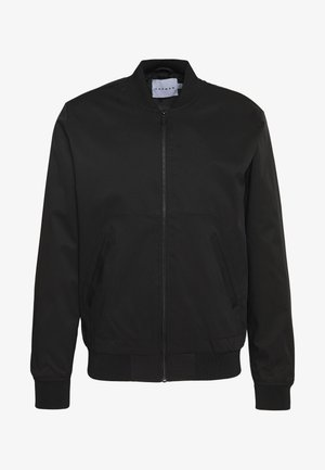ICONIC REPEAT - Kurtka Bomber - black