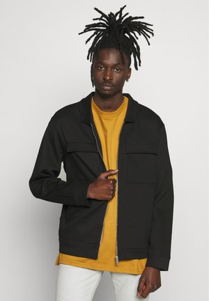 UTILITY SHACKET - Summer jacket - black