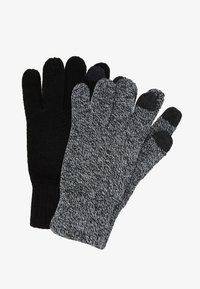 Topman - TOUCHSCREEN GLOVES 2 PACK - Hansker - multi-coloured - 0