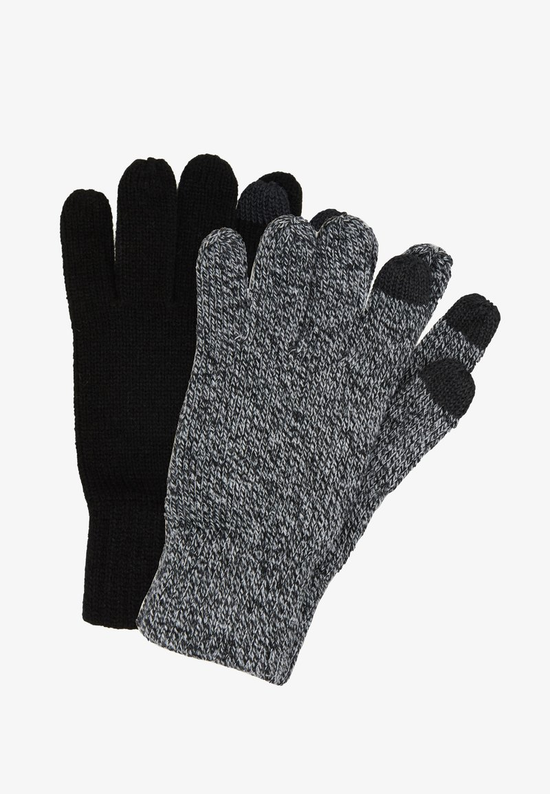 Topman - TOUCHSCREEN GLOVES 2 PACK - Guanti - multi-coloured