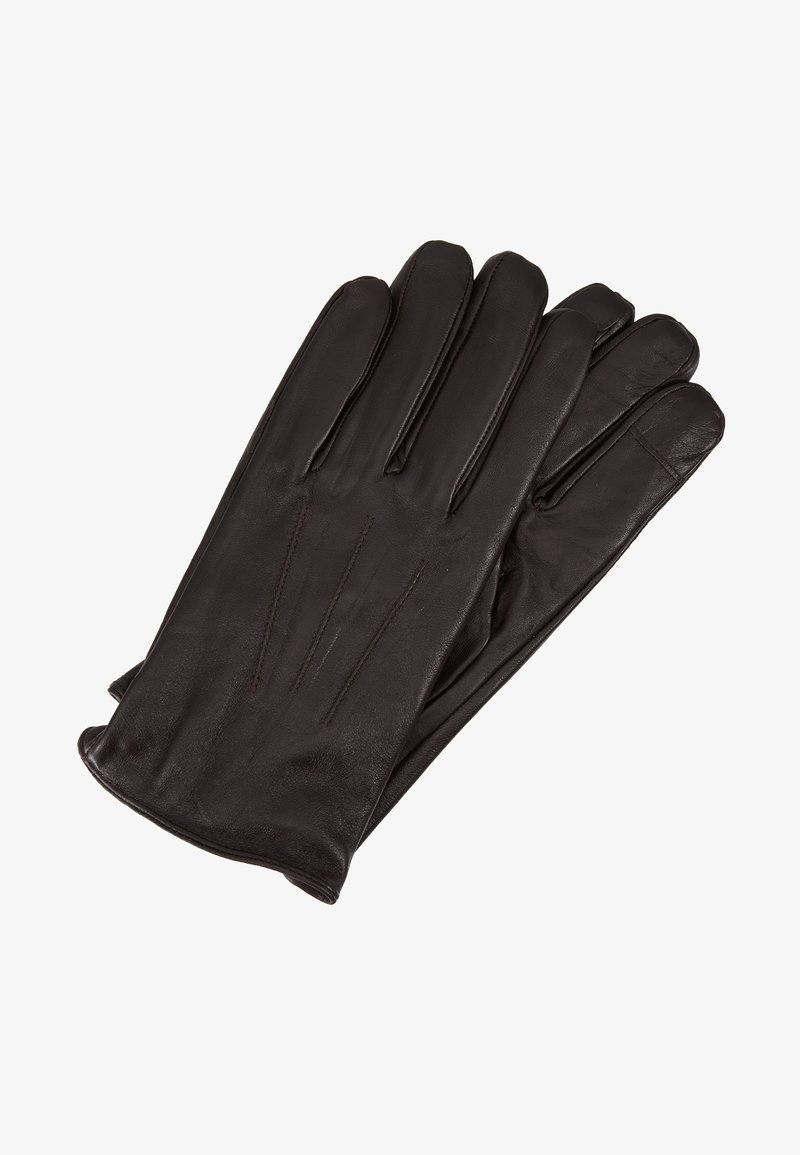Topman - TOUCH SCREEN GLOVES - Guantes - brown