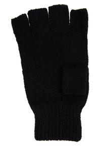 Topman - FINGERLESS GLOVE - Fingerless gloves - black - 2