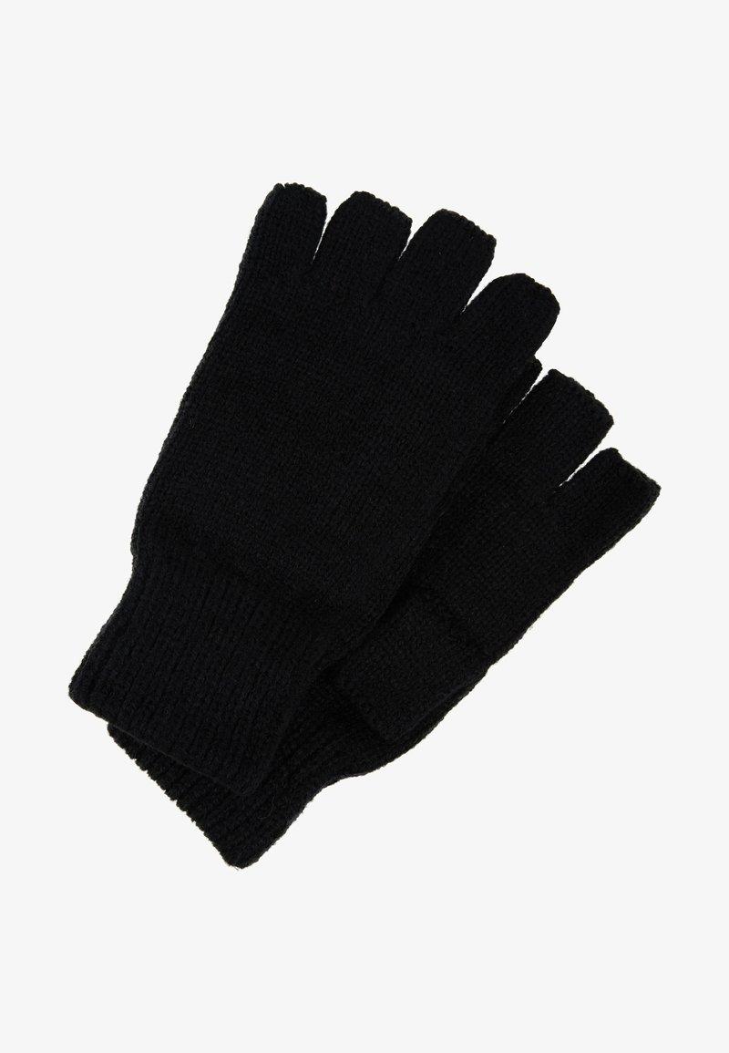 Topman - FINGERLESS GLOVE - Fingerless gloves - black