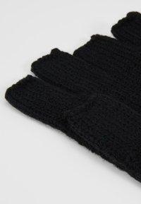 Topman - FINGERLESS GLOVE - Fingerless gloves - black - 3