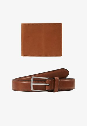 BELT WALLET SET - Wallet - tan