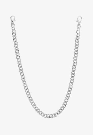 RHODIUM WALLET CHAIN - Nyckelringar - rhodium