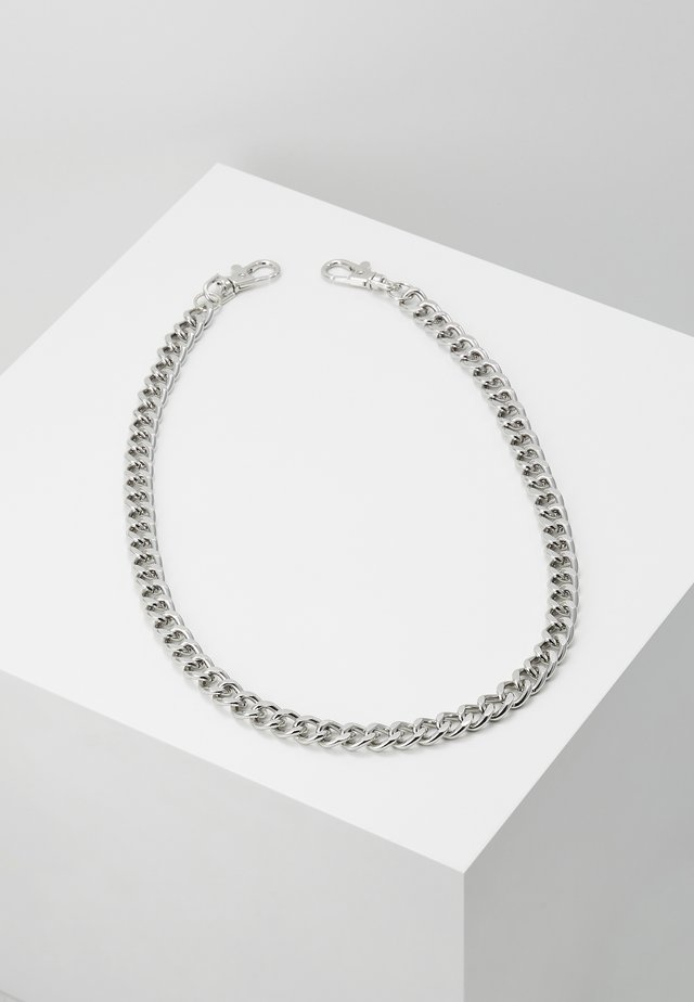 RHODIUM WALLET CHAIN - Porte-clefs - rhodium