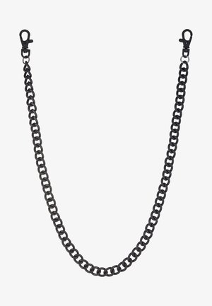 BLACK WALLET CHAIN - Nyckelringar - black