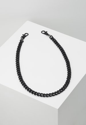 BLACK WALLET CHAIN - Portachiavi - black
