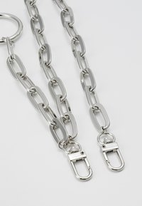 Topman - CLEAN CABLE WALLET CHAIN - Keyring - rhodium