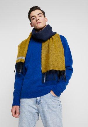 DOUBLE FACED - Szal - navy blue