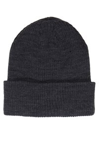 Topman - DUSTIN BEANIE AND BASIC SCARF SET - Bufanda - charcoal - 3