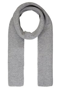 Topman - LAMBSWOOL  BEANIE AND SCARF SET - Bufanda - grey - 2