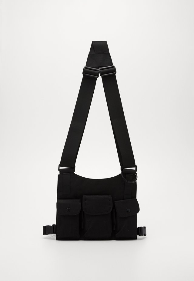 FLAT CAGE - Umhängetasche - black