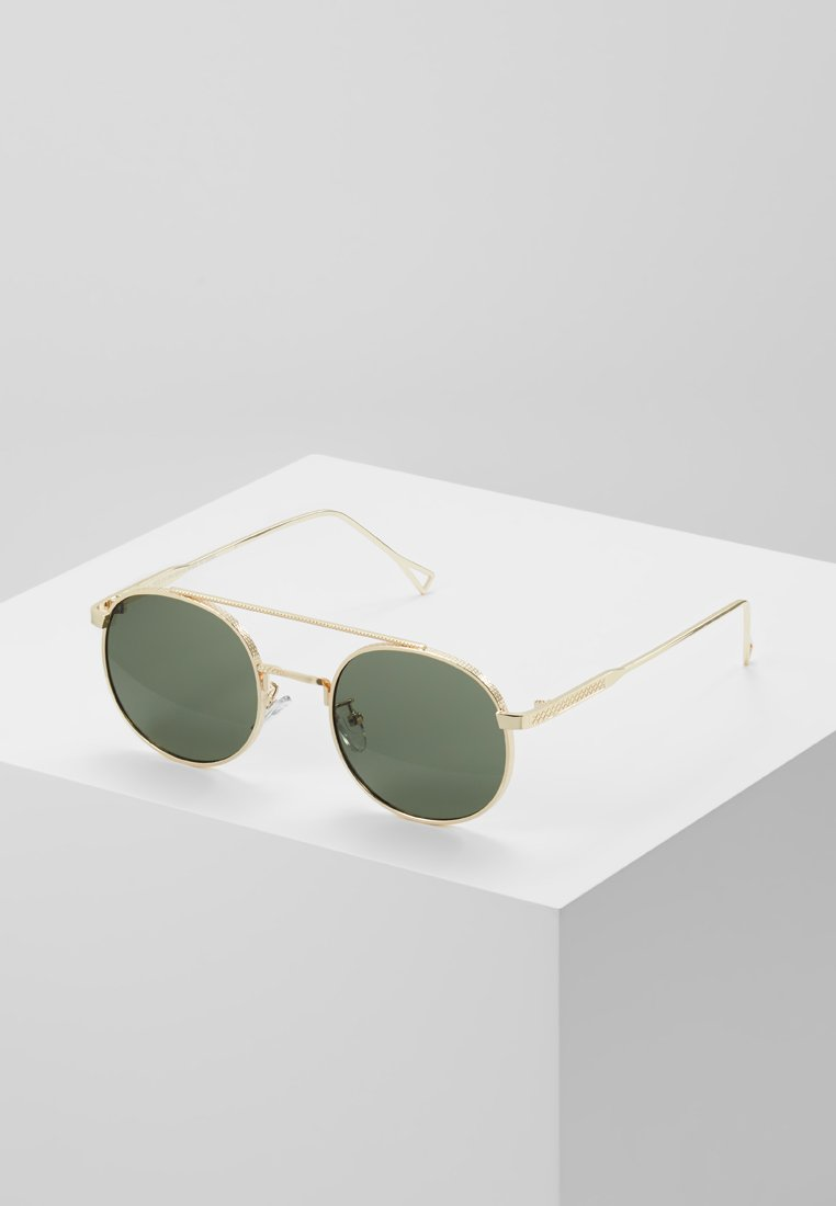 Topman - BAR - Sunglasses - gold-coloured