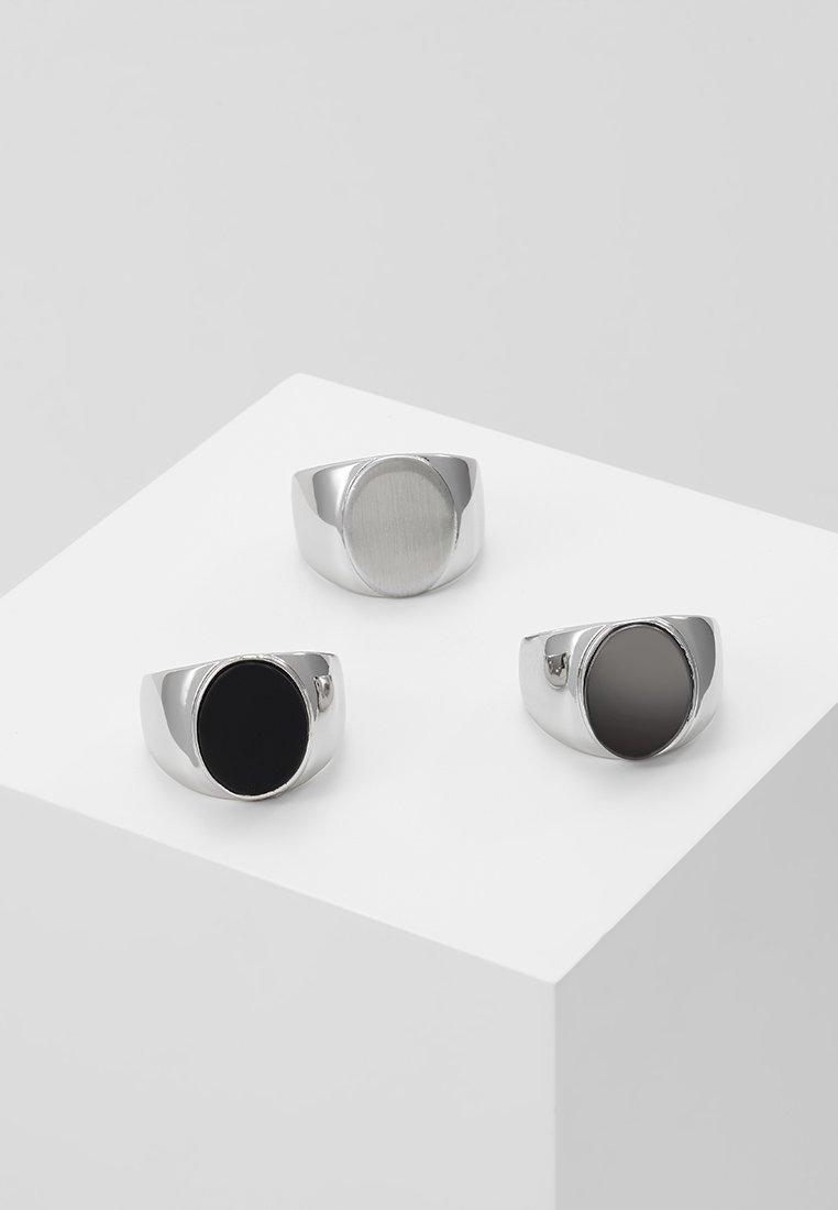 Topman - CLEAN SIG 3 PACK - Ring - multi