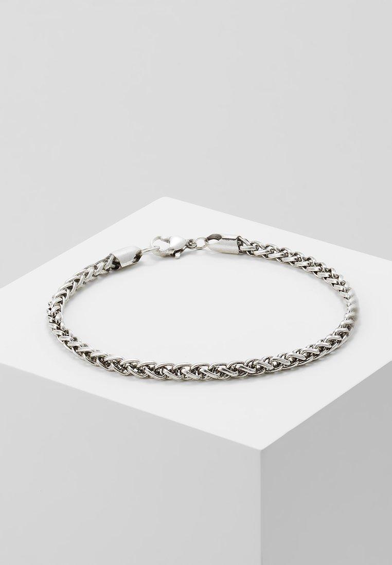 Topman - SINGLE CHAIN - Pulsera - silver-coloured