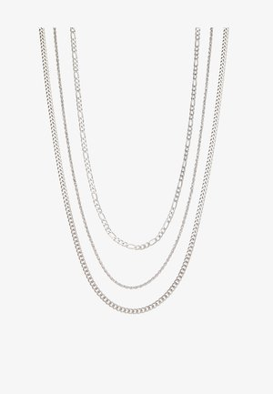MULTIROW CHAIN 3 PACK - Halsband - silver-coloured