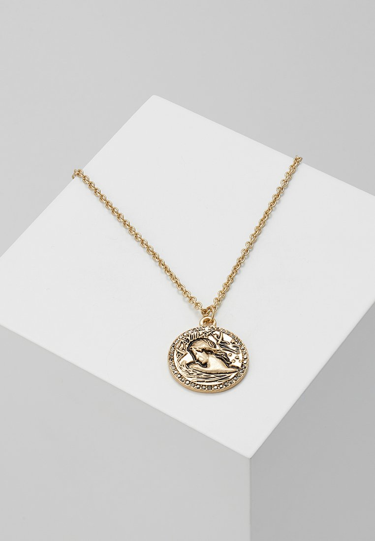 Topman - COIN NECKLACE - Náhrdelník - gold-coloured