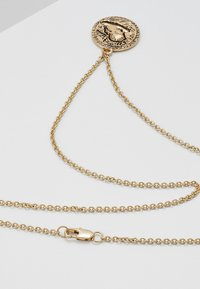 Topman - COIN NECKLACE - Náhrdelník - gold-coloured - 2