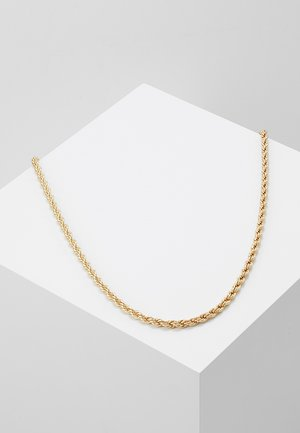 CHUNKY CHAIN NECKLACE - Naszyjnik - gold-coloured