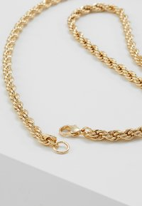 Topman - CHUNKY CHAIN NECKLACE - Collana - gold-coloured - 2