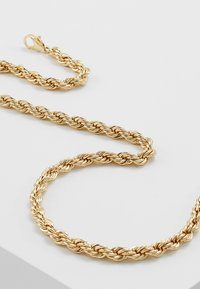 Topman - CHUNKY CHAIN NECKLACE - Collana - gold-coloured - 4