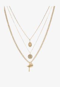 Topman - EXTRA RELIGIOUS  3 PACK - Kaulakoru - gold-coloured - 3