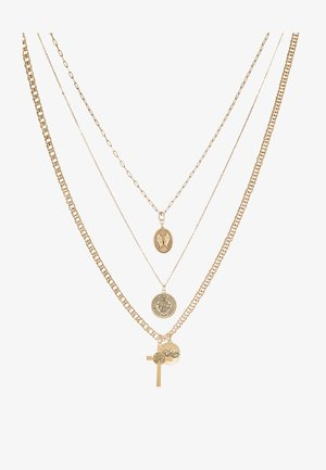 EXTRA RELIGIOUS  3 PACK - Necklace - gold-coloured