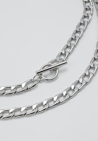 Topman - CLEAN FLAT CHAIN - Halsband - silver-coloured - 2