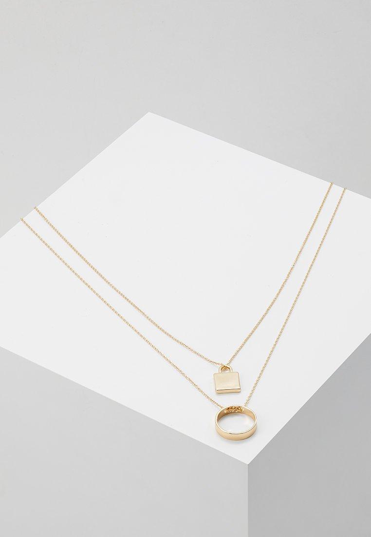 Topman - FINE LOCK CIRCLE - Halskette - gold-coloured