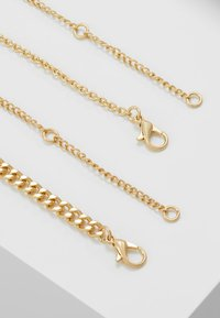 Topman - VINTAGE COIN AND CROSS 2 PACK - Collana - gold-coloured - 2
