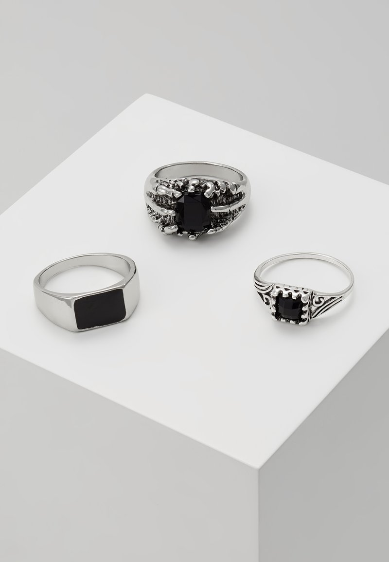Topman - COIN SET - Ring - silver-coloured