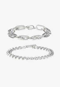 Topman - INDUSTRIAL BAR 2 PACK - Bransoletka - silver-coloured - 3