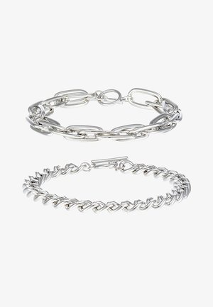 INDUSTRIAL BAR 2 PACK - Armband - silver-coloured