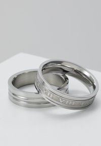 Topman - ROMAN NUMERAL SET - Anillo - silver-coloured - 4