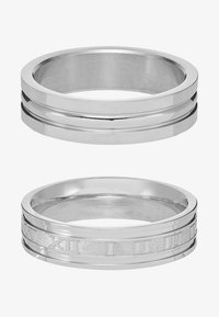 Topman - ROMAN NUMERAL SET - Anillo - silver-coloured - 3
