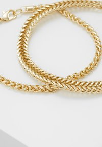 Topman - CHAIN 2 PACK - Bracciale - gold-coloured - 4