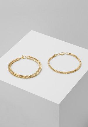 CHAIN 2 PACK - Bracciale - gold-coloured