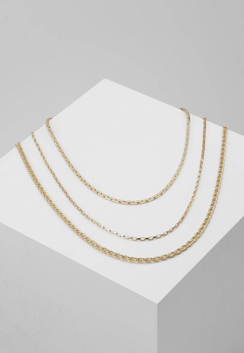 Topman - MIXED CHAIN - Collana - gold-coloured