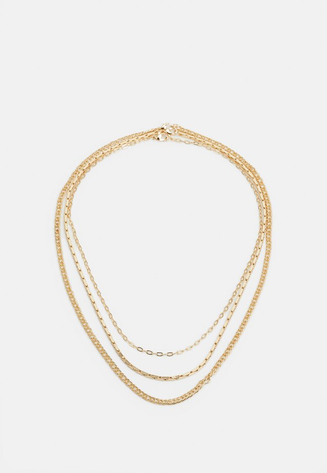MIXED CHAIN - Collier - gold-coloured