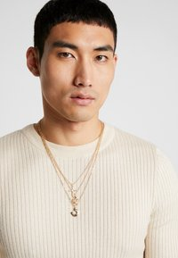 Topman - CROWN HORSESHOE ROW - Collana - gold-coloured - 1