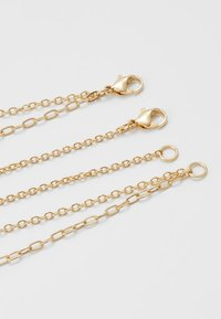 Topman - CROWN HORSESHOE ROW - Collana - gold-coloured - 2